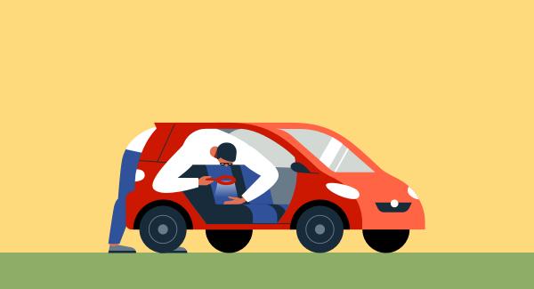 Проверяем салон автомобиля